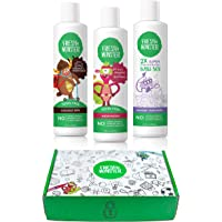 Fresh Monster Kids & Baby Gift Set - Natural, Toxin-Free Shampoo & Conditioner, Body Wash, and Bubble Bath , Green , (3…