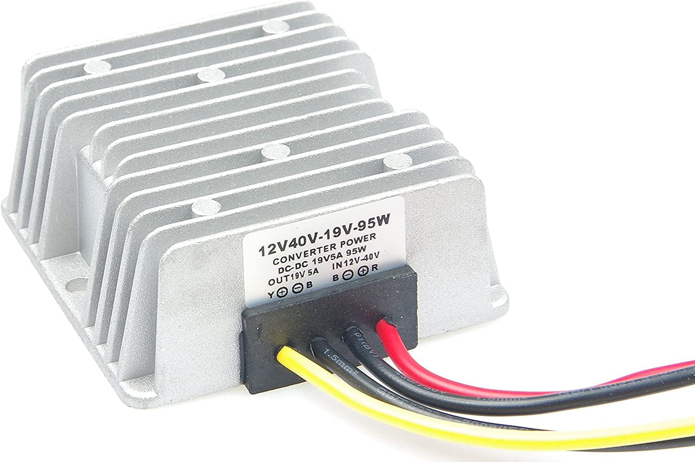 12v-40v to 19V5A voltage stabilizer 24V to 19V stabilizer 95W Step-down module