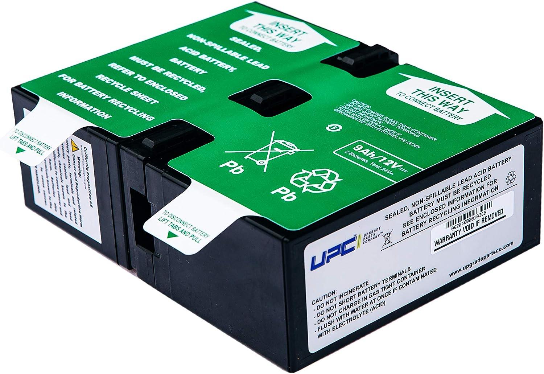 UPSBatteryCenter APCRBC124 Compatible Replacement Battery Cartridge for The SMC1000-2U