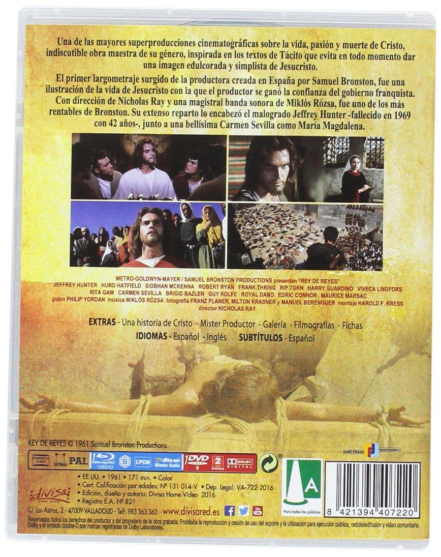 Rey de Reyes [Blu-ray]: Amazon.es: Jeffrey Hunter, Hurd Hatfield, Siobhan McKenna, Nicholas Ray: Cine y Series TV