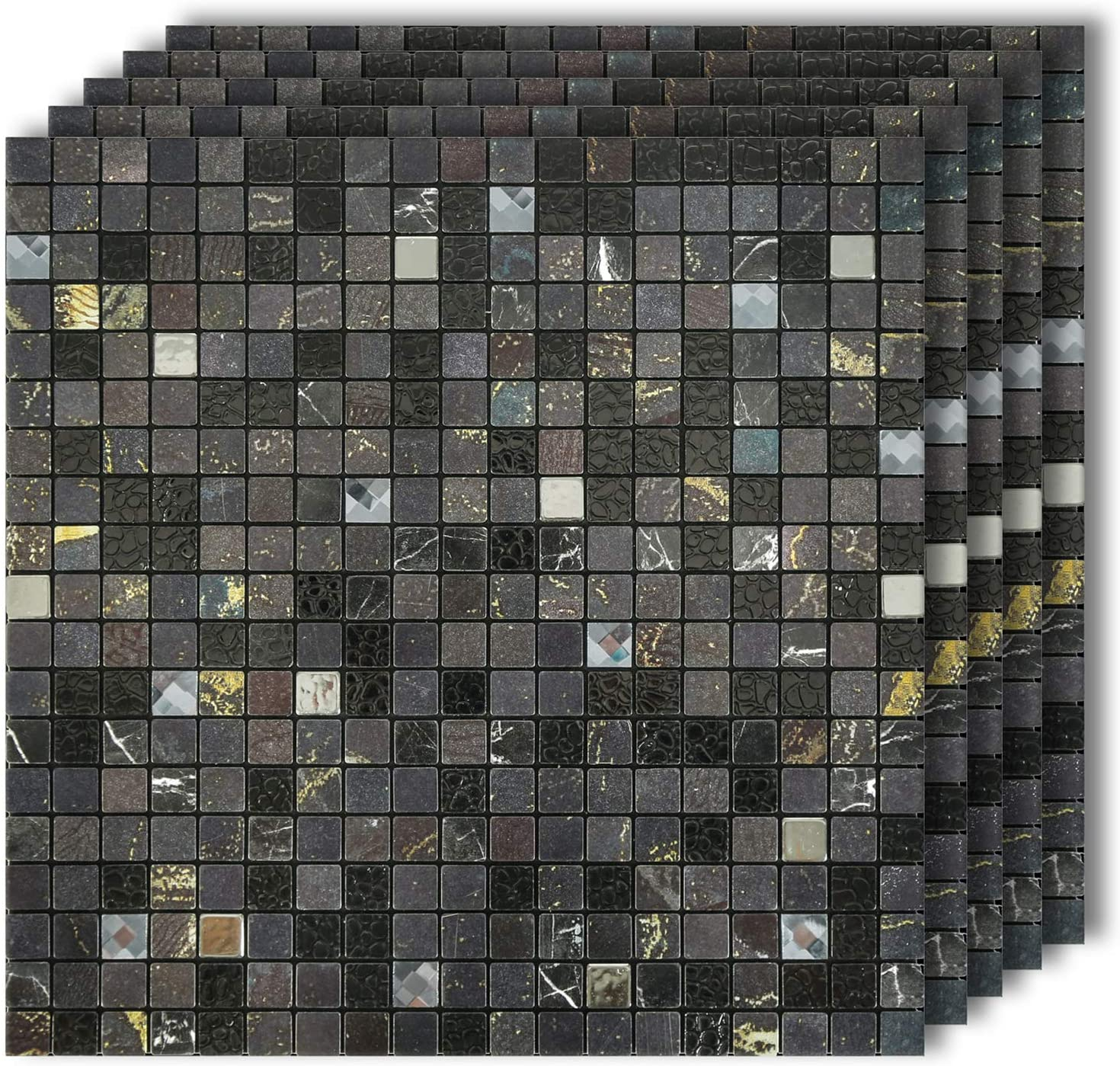- Amazon.com: HomeyMosaic Peel And Stick Tile Backsplash For Kitchen