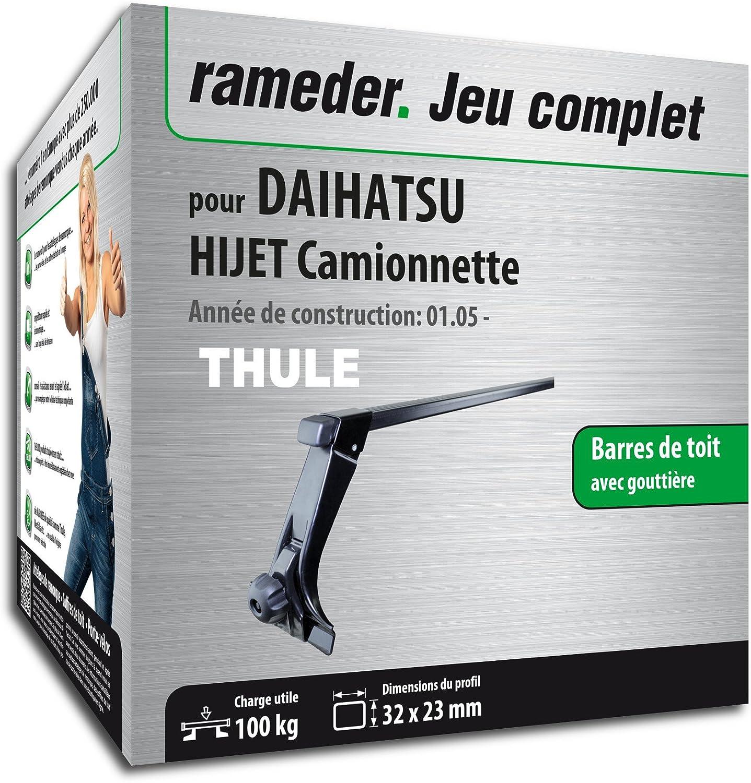 Complete Kit Rameder Squarebar Roof Bars For Daihatsu Hijet Truck Van Wiring Diagram 116087 03517 1 Fr Car Motorbike