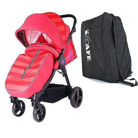 Vela - rojo incluye, de arranque, cochecito, bolsa de viaje ...