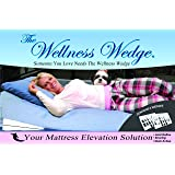 """Your Mattress Elevation Solution From 3 To 6 Inches of Elevation """"Bed Wedge 2 Pack"""""""