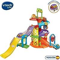 VTech- Aparcamiento TutTut Bólidos Parking Interactivo, Incluye a