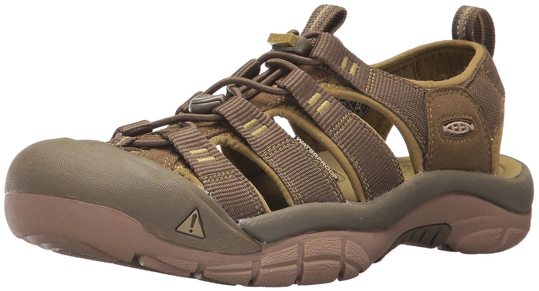 KEEN Men's Newport H2 Sandal B01MQKEXJP 9 D(M) US|Dark Olive/Green Moss