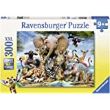 Ravensburger Favourite Wild Animals Puzzle 300pc,Children's Puzzles