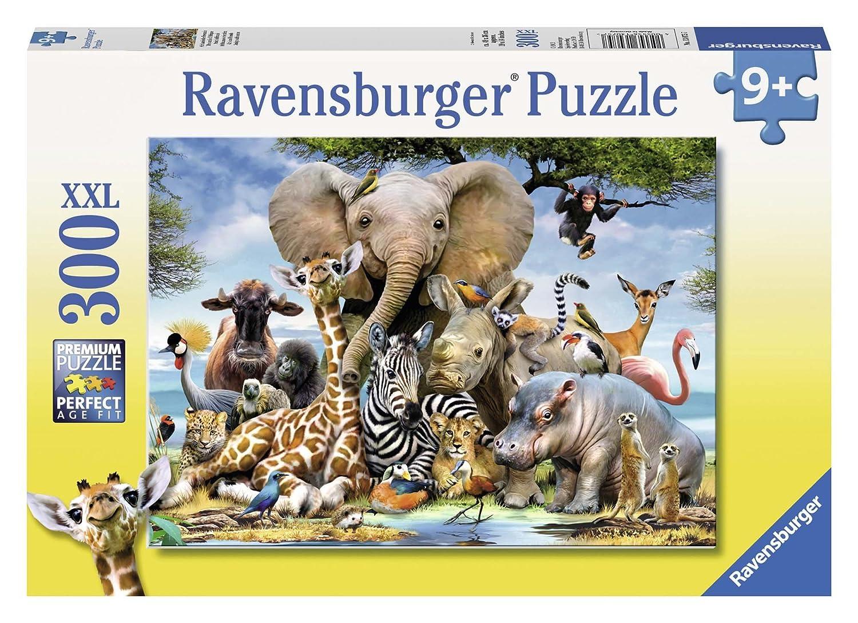 Ravensburger Italy- Rav Pzl 300 Pz Multicolore 878442 Cuccioli DAfrica 13075