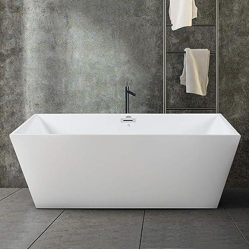 FerdY Palawan 59″ Acrylic Freestanding Bathtub