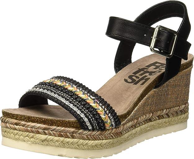Sandalias con Plataforma Cañamo para Mujer