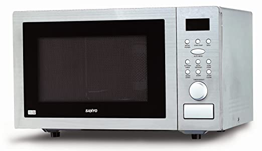 Sanyo EM-SL60C - Microondas (25 L, 900 W, Acero inoxidable ...