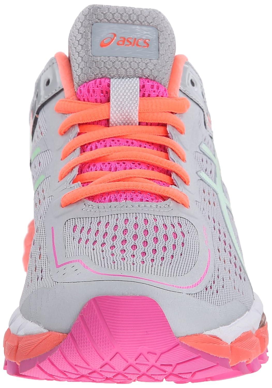 ASICS Women's GEL-Kayano 22 B(M) Running Shoe B00OU7SH0Y 5 B(M) 22 US|Silver Grey/Pistachio/Fiery Coral 036d22