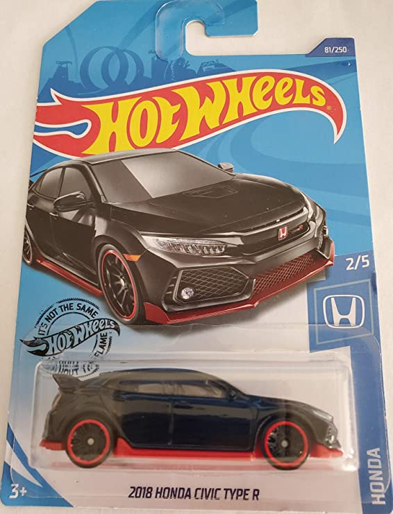 2020 Hot Wheels HONDA 2//5 2018 Honda Civic Type R 81//250