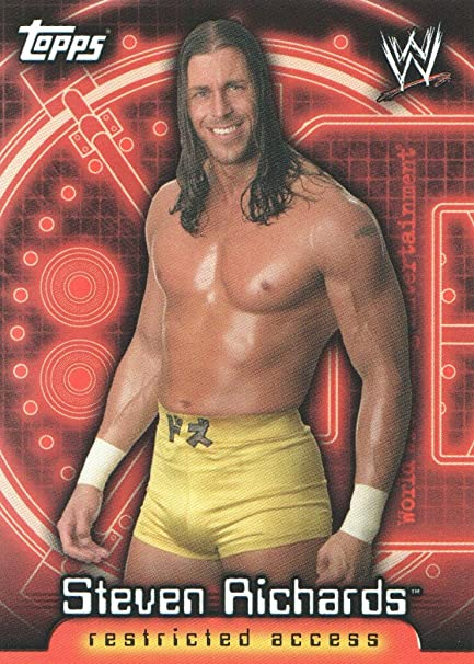 2006 Topps WWE Insider Wrestling #63 Steven Richards at