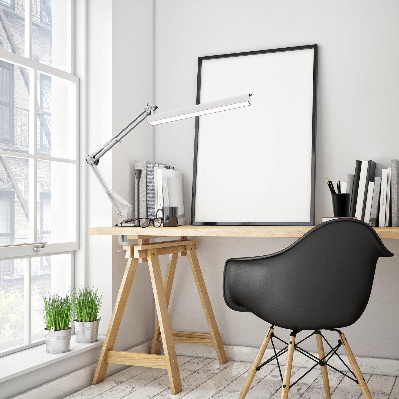 Youkoyi A16 Led Desk Lamp Workbench Drafting Table Lamp Swing