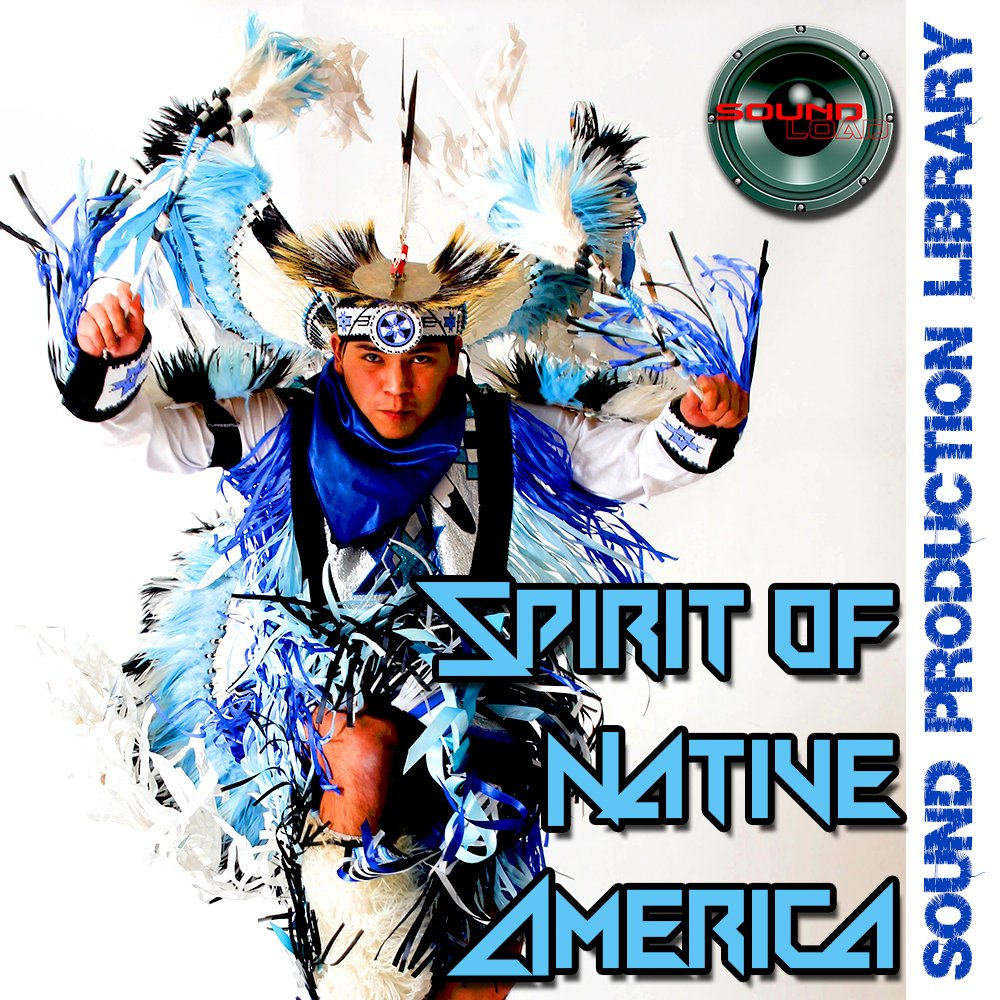 Native America Spirit - huge Unique, very useful original Multi-Layer Studio WAV Samples Library on DVD by SoundLoad