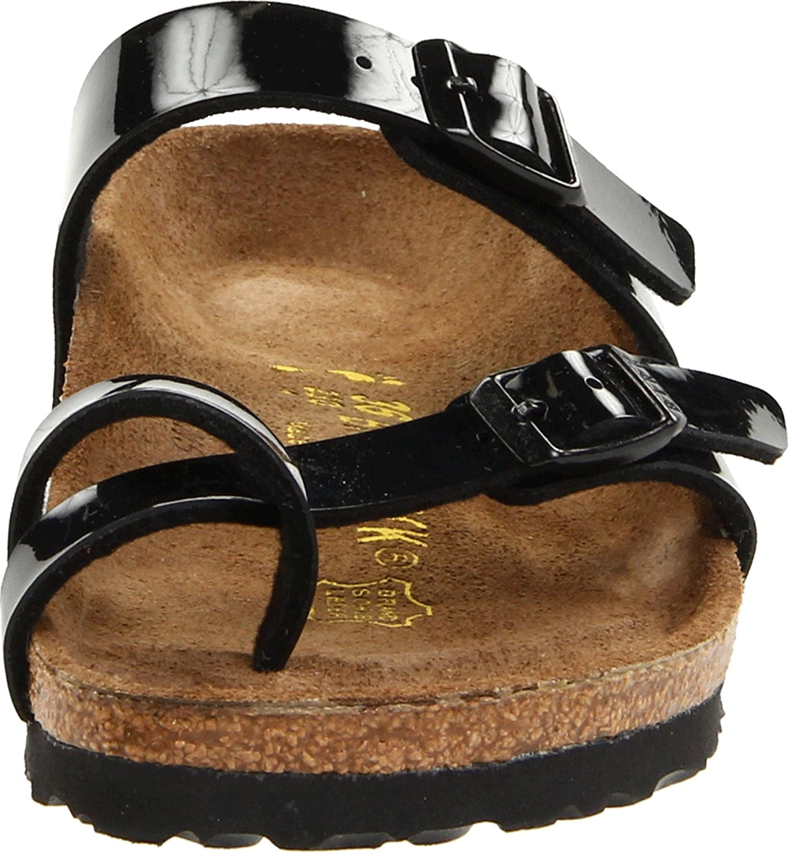 Amazon.com: Birkenstock Birko Flor Mayari Sandal,Black Patent, 36 M EU / 5-5.5 B (M) US: Shoes