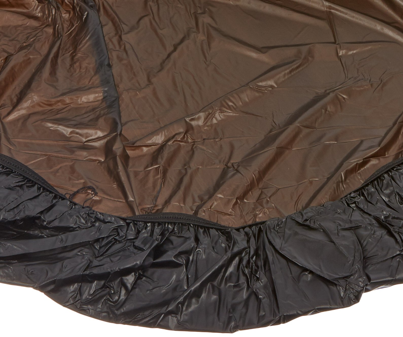 Kwik-Cover 60PK-BLK 60'' Round  Kwik-Cover Black Fitted Table Cover (1 full case of 50)