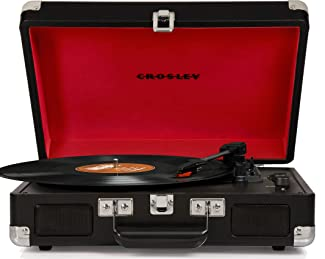 Crosley CR8005D-BK Cruiser Deluxe Portable
