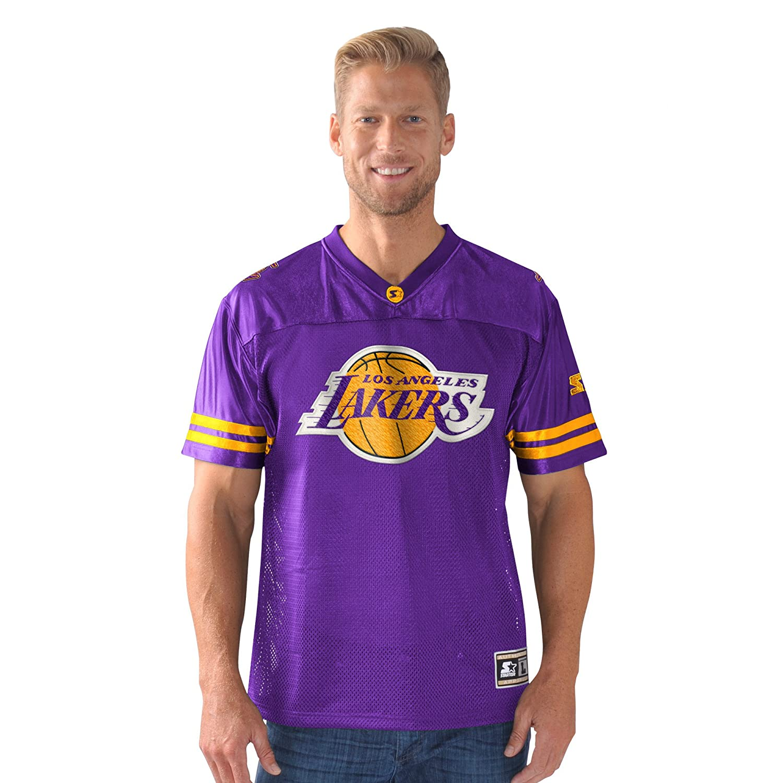Purple Starter Adult Men Heritage Football Jersey Large