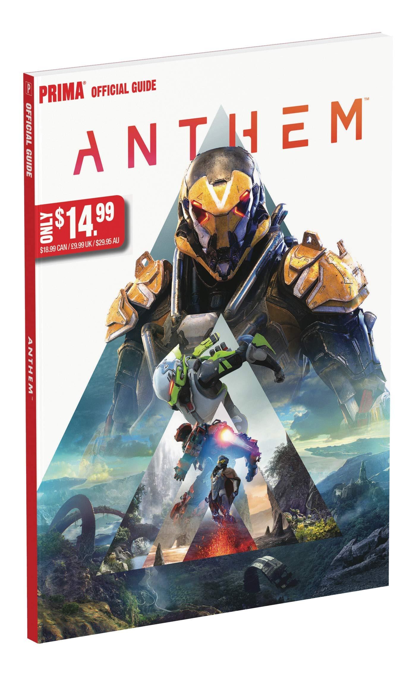 Anthem: Official Guide: Amazon.es: Prima Games: Libros en idiomas ...