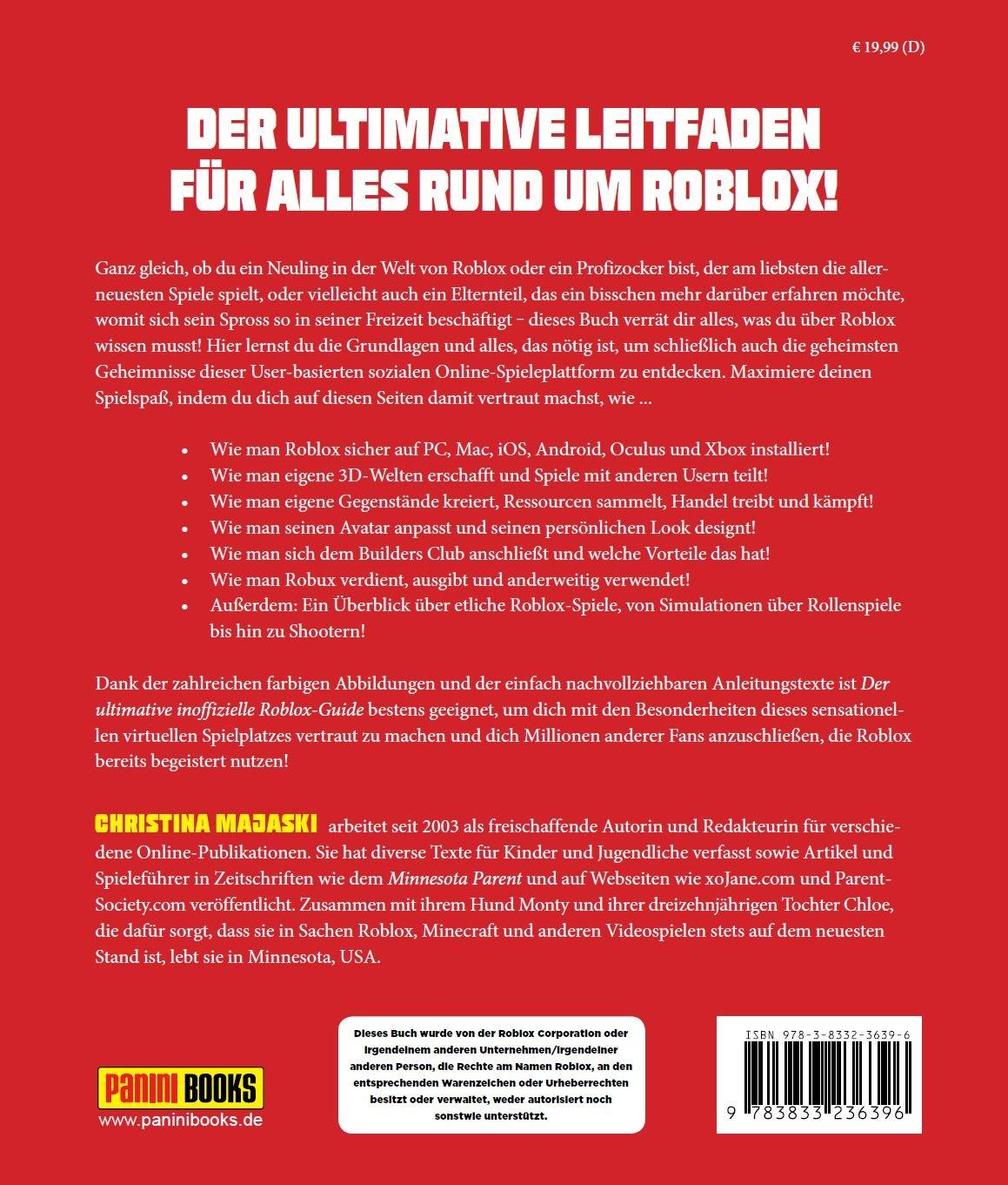 Der ultimative inoffizielle Roblox-Guide: 9783833236396: Amazon.com ...