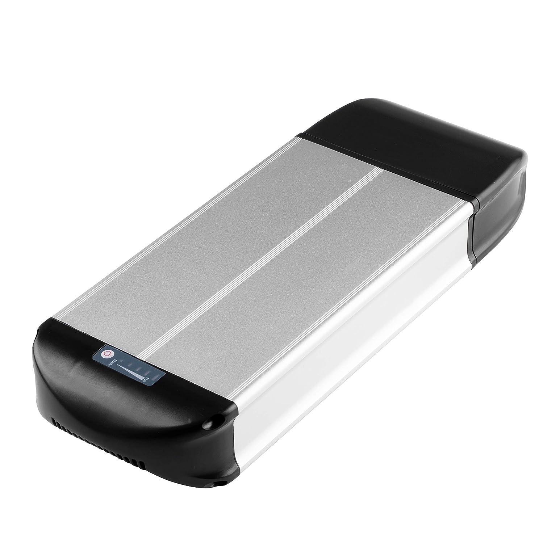 SEASON E-Bike Pedelec Batterie 36V 13Ah avec Lithium-ION Cellules Porte-Bagage Arri/ère Universel pour 26-28 V/élo /électrique 37V