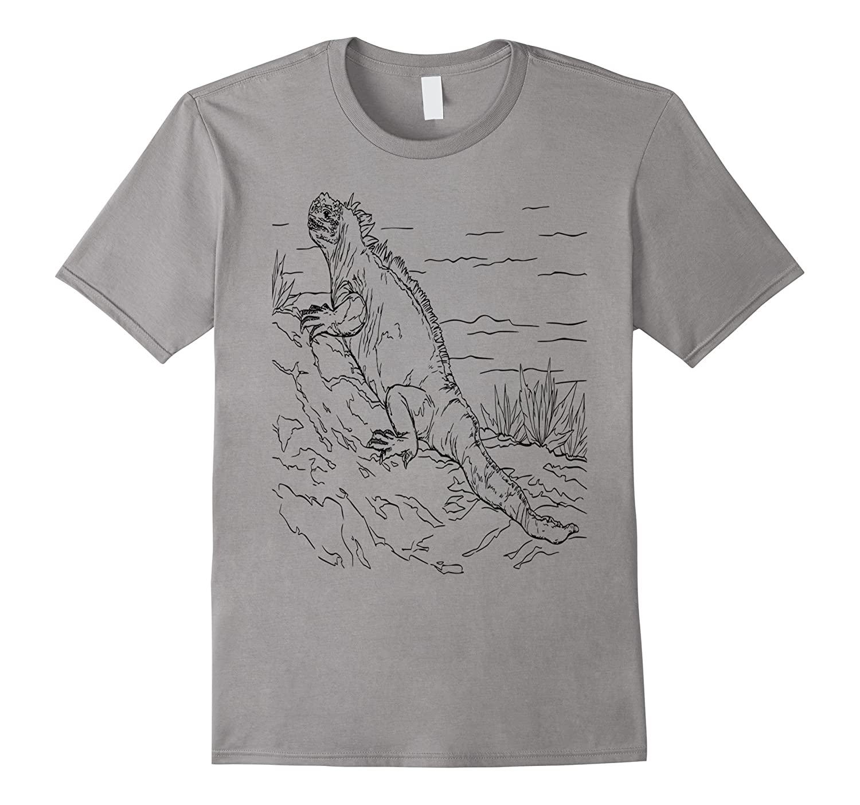 Iguana Lizard Reptile Love T-Shirt-Art