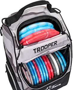 Dynamic Discs Trooper Disc Golf Backpack | Frisbee Disc Golf Bag with 18+ Disc Capacity | Introductory Disc Golf Backpack | Lightweight and Durable