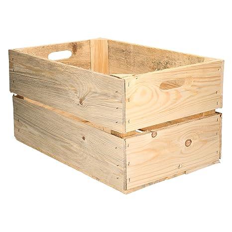 Caja de Madera diseño Fruta Cajas de Vino rústico Colonial