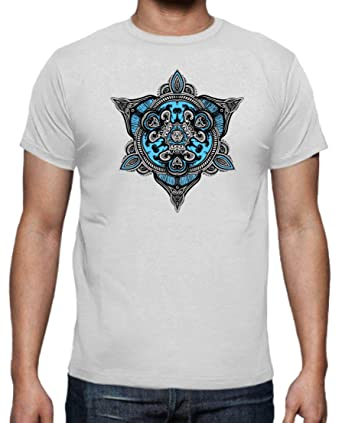 The Fan Tee Camiseta de Hombre Mandalas Buda Yoga: Amazon.es ...