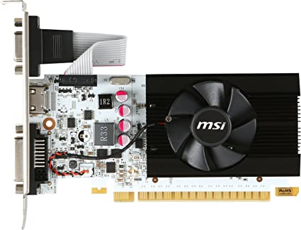 MSI Video Card N730K-2GD5LP//OC G730K2LPC GT730 2GB DDR5 OC 64Bit pci-e