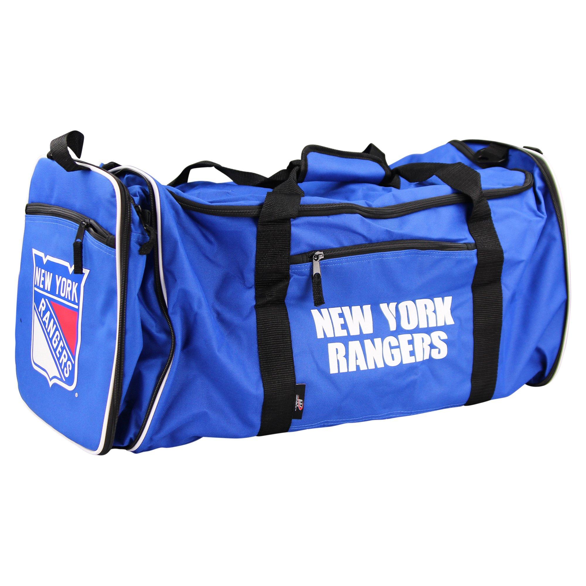 NHL Team Logo Extended Duffle Bag (New York Rangers)