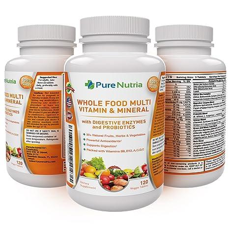 Amazon.com: Multivitamina y minerales para alimentos ...
