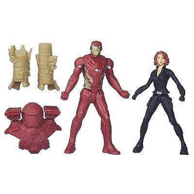 Marvel Captain America: Civil War Iron Man & Black Widow: Toys & Games