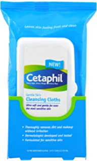 Cetaphil Gentle Skin Cleansing Cloths, 25 Count by Cetaphil