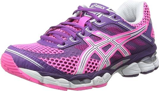 Asics Gel-Cumulus 15, Zapatillas para Hombre, Pink, 35 EU: Amazon.es: Zapatos y complementos