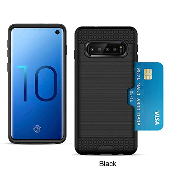 aae98e14b6 S10 Plus with Card Holder ; Samsung Galaxy S 10 Plus Case with Credit Card  Slot