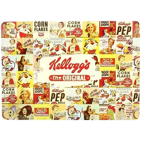 Promobo – Juego de mesa desayuno Retro Vintage Pub Kelloggs ...