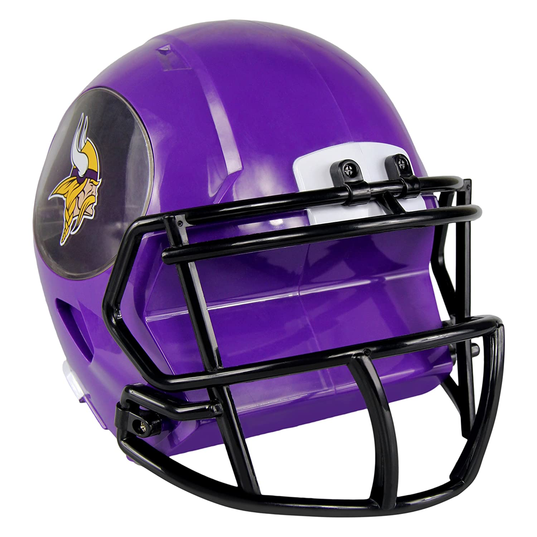 NFL ABSヘルメット銀行 B071WZQHVY パープル パープル