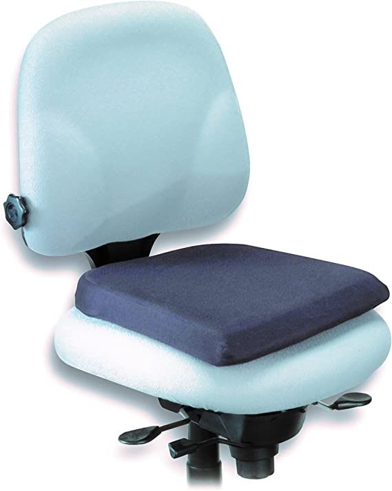 Kensington 82024 Memory Foam Seat Rest Chair Cushion Office Products