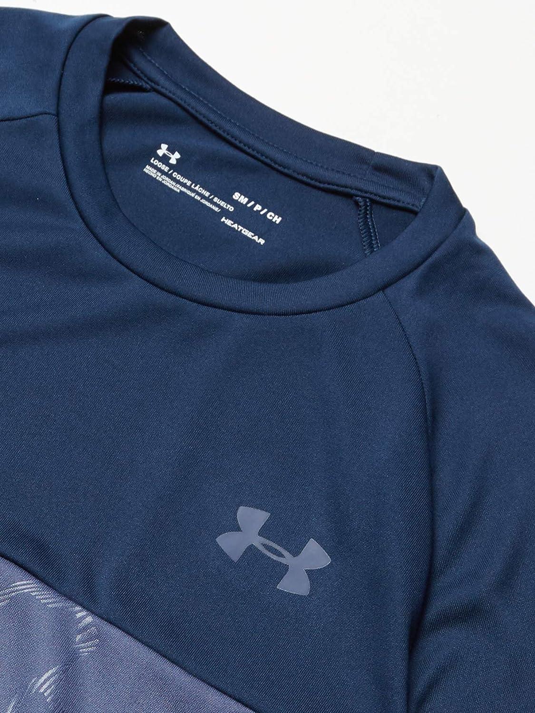 Under Armour Mens Tech 2.0 Emboss Short Sleeve Training Workout Shirt Short Sleeve