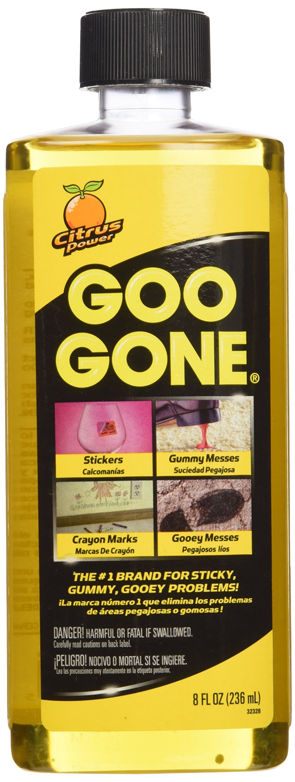Goo Gone Surface Safe Adhesive Remover, 8 oz, 2 Pack product image