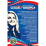"Parks and Recreation Knope 2012 Poster- Cooltvprops Parks and Recreation Poster-Quirky Quotes Inspired by Leslie Knope- 24"" b"
