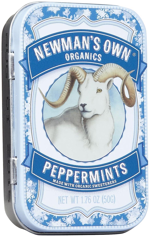 Newman's Own Organics Organic Peppermints - 1.76 oz - 6 ct