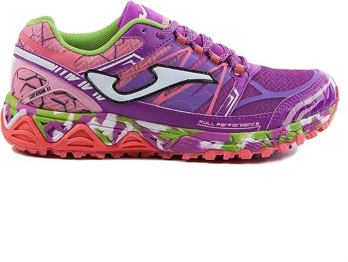 Joma TK-Sierra lady 719 purple - zapatillas running montaña mujer color lila (38): Amazon.es: Deportes y aire libre