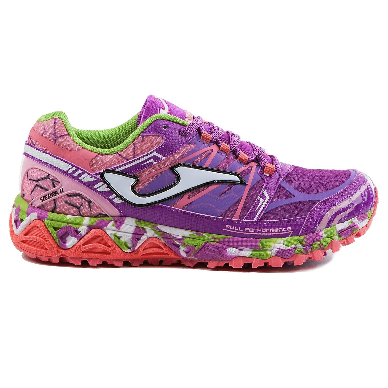 Joma TK Sierra lady 719 purple zapatillas running montaña