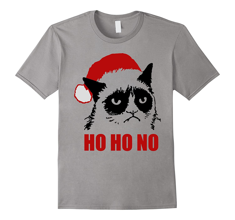 ed68deb10 Grumpy Christmas Cat T-Shirt tee-CL – Colamaga