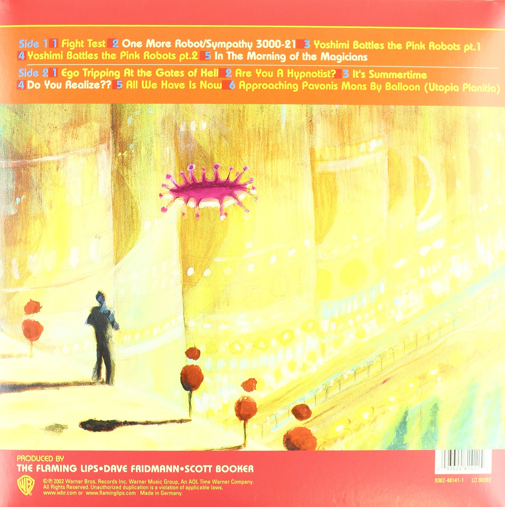 Yoshimi Battles the Pink Robots [Vinyl] by Wea Int'L