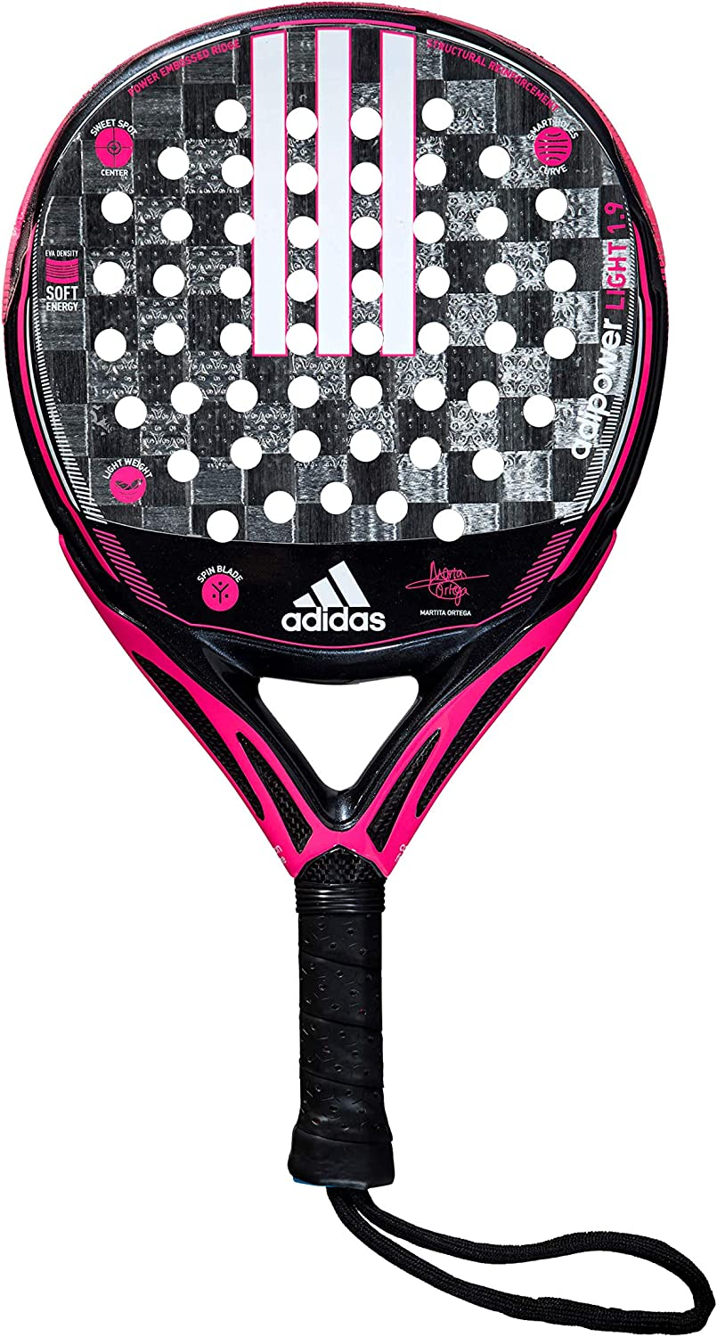 Adidas Adipower Light 1.9 Palas, Mujer, Rosa, 360: Amazon.es ...